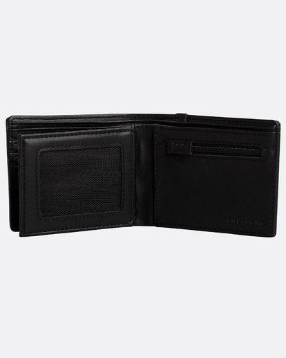 3 Walled Wallet Noir N5WM05BIP9 Billabong
