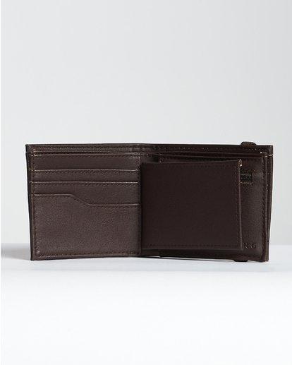 5 Locked Id - Leder-Brieftasche für Männer Braun N5WM06BIP9 Billabong