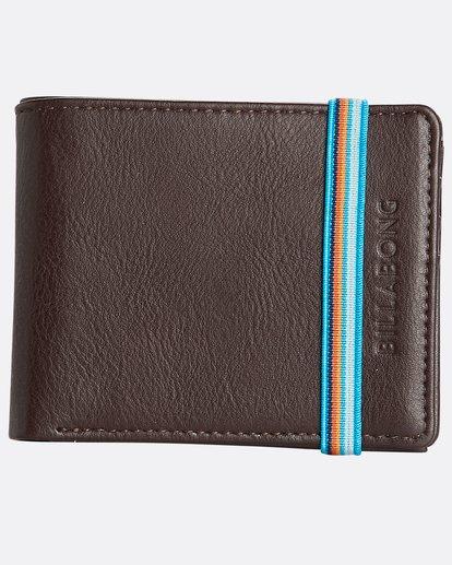 0 Locked Id - Leder-Brieftasche für Männer Braun N5WM06BIP9 Billabong