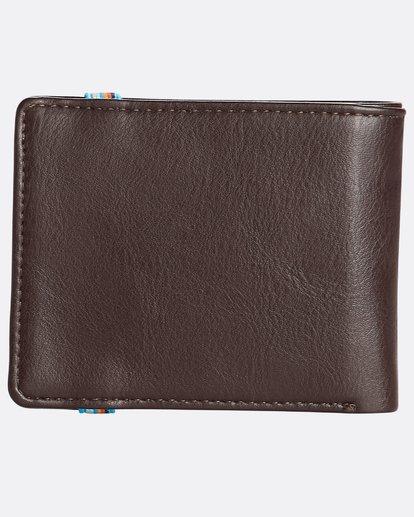 1 Locked Id - Leder-Brieftasche für Männer Braun N5WM06BIP9 Billabong