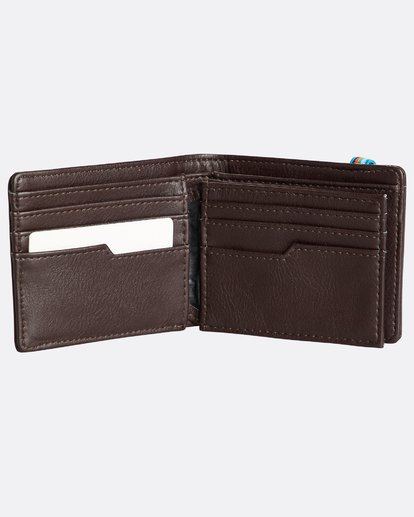 2 Locked Id - Leder-Brieftasche für Männer Braun N5WM06BIP9 Billabong