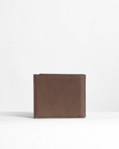 1 Die Cut - Leder-Brieftasche für Männer Braun N5WM11BIP9 Billabong