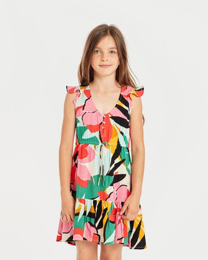 2 Girls' Sing It Dress  N8DR01BIP9 Billabong