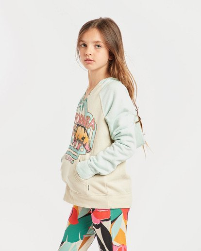 0 Girls' Days Off 2 Hoodie Azul N8HO02BIP9 Billabong