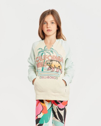 2 Girls' Days Off 2 Hoodie Blau N8HO02BIP9 Billabong