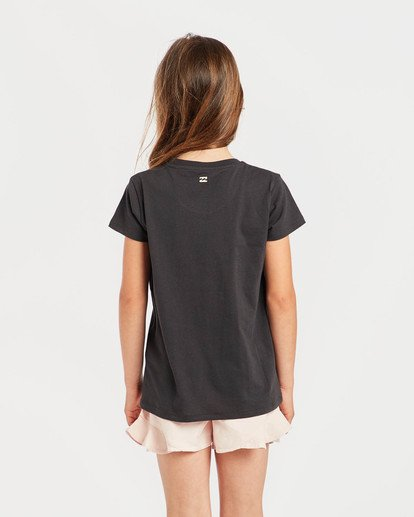 1 Girls' Billie T-Shirt Schwarz N8SS01BIP9 Billabong