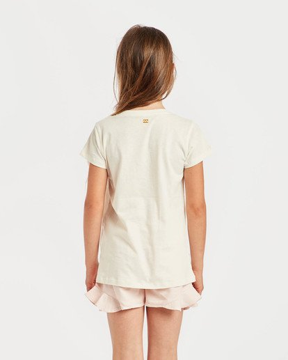 1 Girls' Billie T-Shirt Beige N8SS01BIP9 Billabong