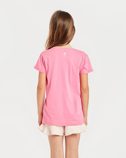 1 Girls' Billie T-Shirt Rosa N8SS01BIP9 Billabong