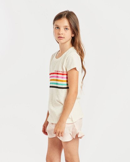 0 Girls' Moppet T-Shirt Beige N8SS02BIP9 Billabong