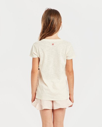 1 Girls' Moppet T-Shirt Beige N8SS02BIP9 Billabong