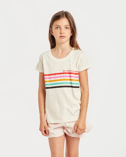 2 Girls' Moppet T-Shirt Beige N8SS02BIP9 Billabong