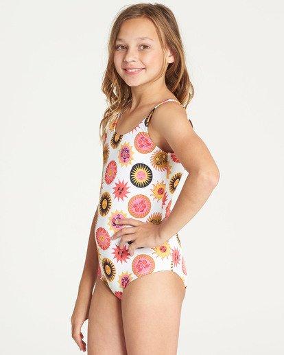 3 Girls' Ole Souliel One Piece Swimsuit  N8SW03BIP9 Billabong