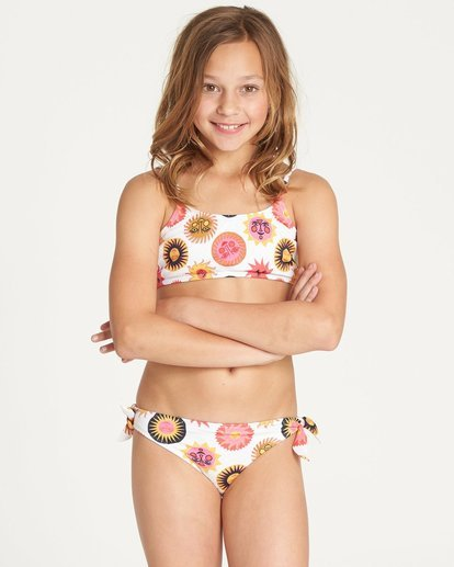 0 Girls' Ole Souliel Tank Swim Set  N8SW04BIP9 Billabong