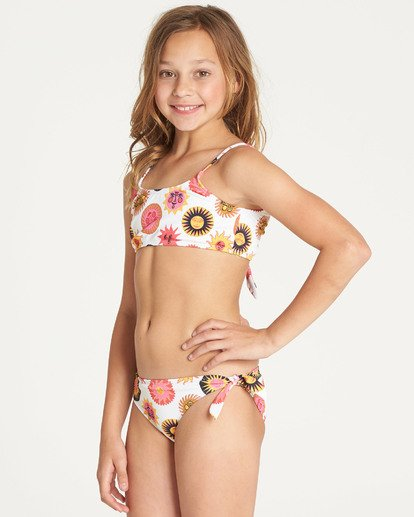 4 Girls' Ole Souliel Tank Swim Set  N8SW04BIP9 Billabong