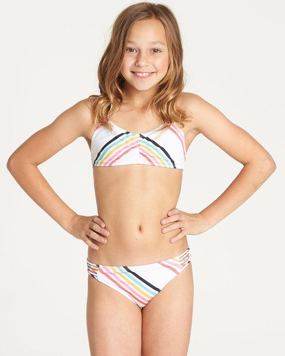 0 Girls' Seeing Rainbows Tali Swim Set  N8SW07BIP9 Billabong
