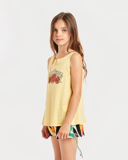 0 Girls' Billie Swing Tank Top Gelb N8TT01BIP9 Billabong