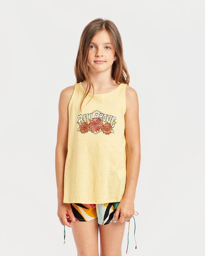 1 Girls' Billie Swing Tank Top Gelb N8TT01BIP9 Billabong