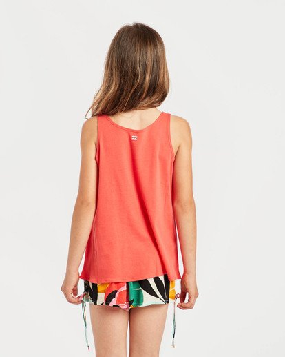 2 Girls' Billie Swing Tank Top Rot N8TT01BIP9 Billabong