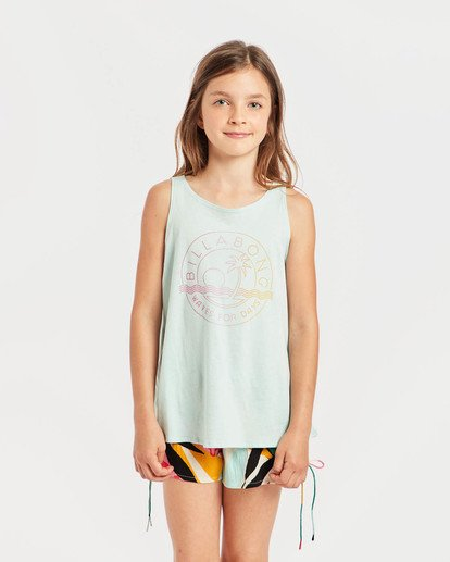 1 Girls' Billie Swing Tank Top Blau N8TT01BIP9 Billabong
