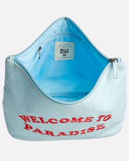 4 Deja Blue Bikini Bag Blau N9BG08BIP9 Billabong