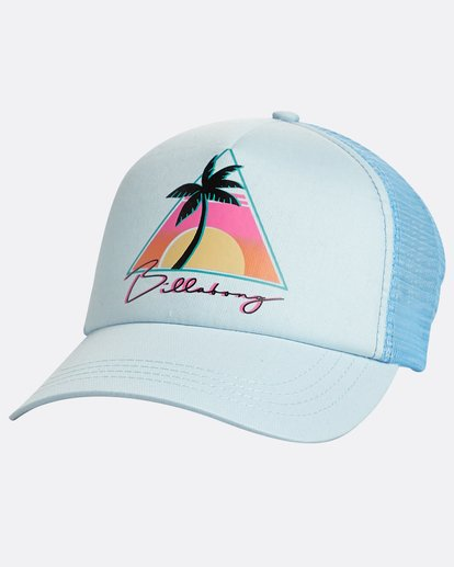 0 Aloha Forever Trucket Hat Blau N9CT01BIP9 Billabong