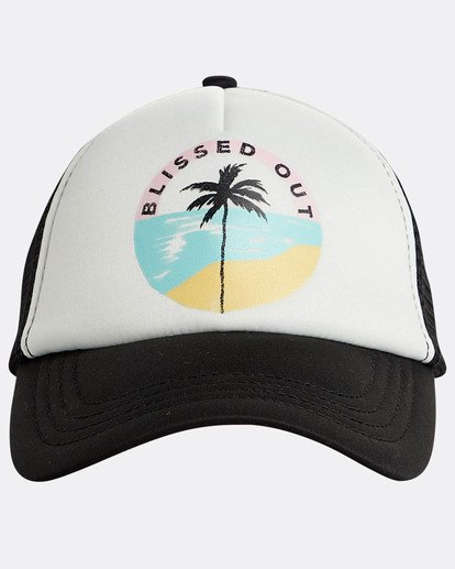2 Accross Waves Trucket Hat Bleu N9CT02BIP9 Billabong