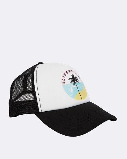 6 Accross Waves Trucket Hat Bleu N9CT02BIP9 Billabong