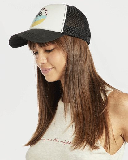 0 Accross Waves Trucket Hat Blue N9CT02BIP9 Billabong