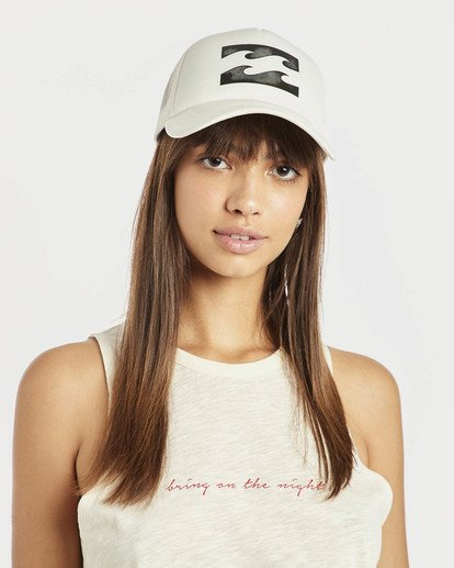 3 Billabong Trucker Hat Beige N9CT03BIP9 Billabong