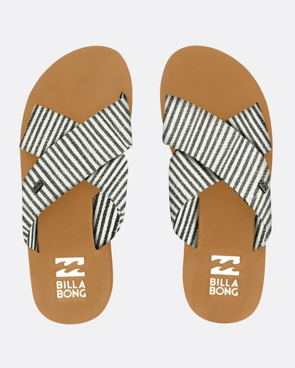 0 Boardwalk Criss Cross Sandals Negro N9FF05BIP9 Billabong