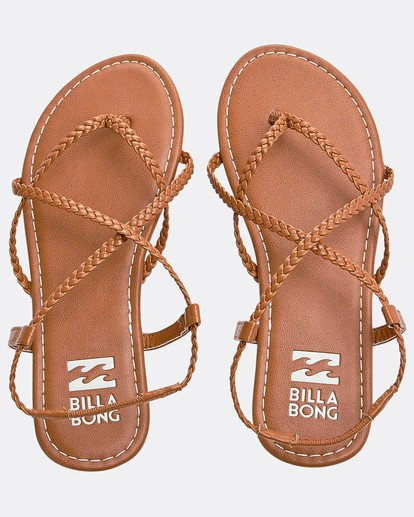 0 Crossing Over 2 Strappy Sandals Beige N9FF09BIP9 Billabong