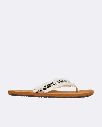 1 Baja Sandals Weiss N9FF12BIP9 Billabong