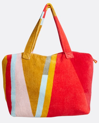 1 Chasing Paradise Oversized Beach Bag Red N9TV03BIP9 Billabong