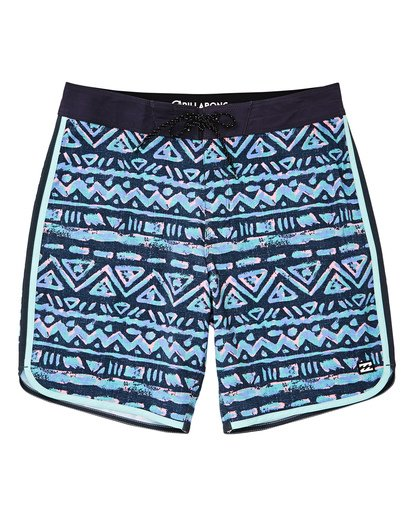 "0 73 Lineup Pro 19"" Boardshorts Grey P1BS04BIS9 Billabong"