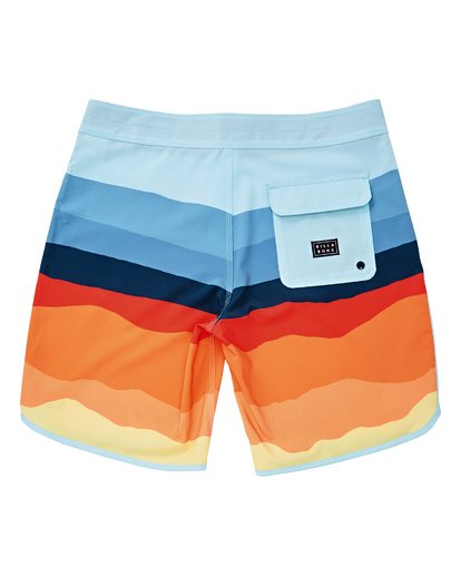 "1 73 Lineup Pro 19"" Boardshorts Orange P1BS04BIS9 Billabong"