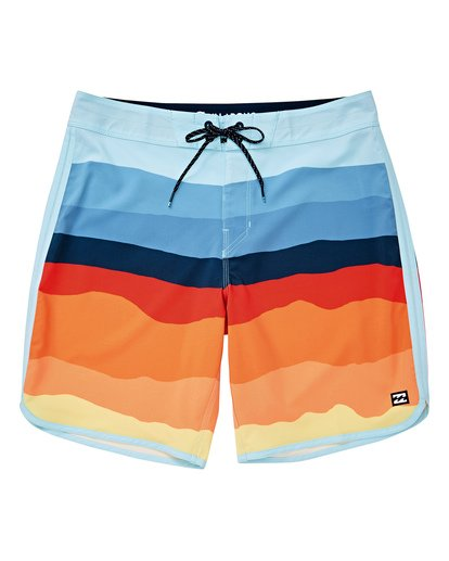 "0 73 Lineup Pro 19"" Boardshorts Orange P1BS04BIS9 Billabong"