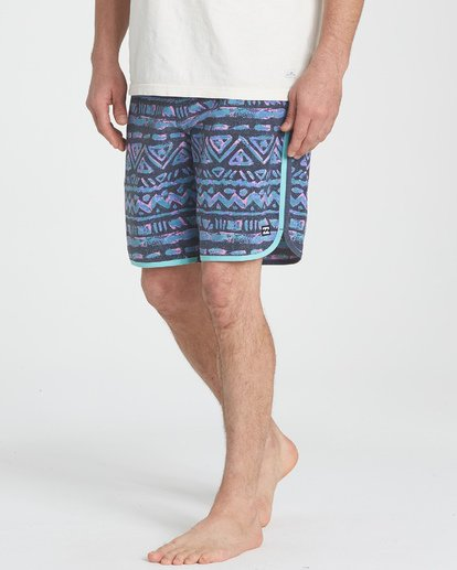 "4 73 Lineup Pro 19"" Boardshorts Grey P1BS04BIS9 Billabong"