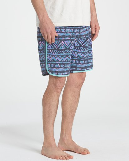 "5 73 Lineup Pro 19"" Boardshorts Grey P1BS04BIS9 Billabong"