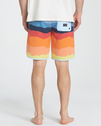 "3 73 Lineup Pro 19"" Boardshorts Orange P1BS04BIS9 Billabong"