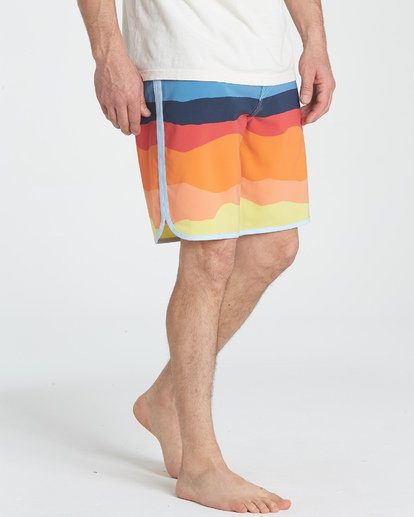 "5 73 Lineup Pro 19"" Boardshorts Orange P1BS04BIS9 Billabong"