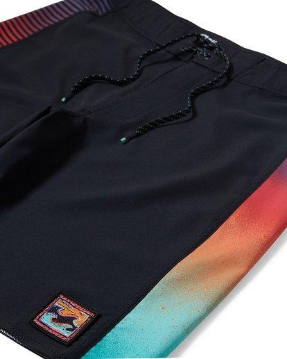 "6 D Bah Pro 18"" Boardshorts Grau P1BS05BIS9 Billabong"