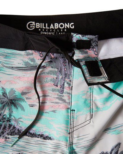 "4 Sundays Pro 19"" Boardshorts Bleu P1BS07BIS9 Billabong"