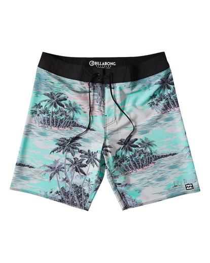 "0 Sundays Pro 19"" Boardshorts Bleu P1BS07BIS9 Billabong"