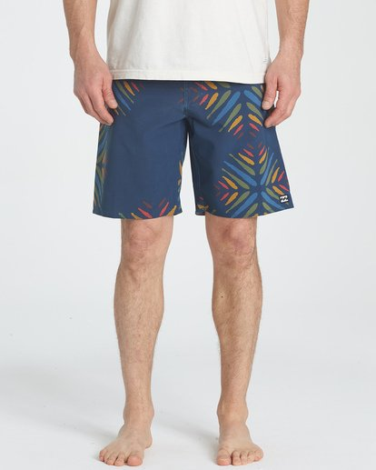 "2 Sundays Pro 19"" Boardshorts Violett P1BS07BIS9 Billabong"
