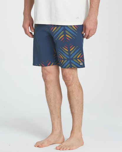 "4 Sundays Pro 19"" Boardshorts Violett P1BS07BIS9 Billabong"