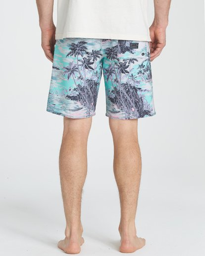 "9 Sundays Pro 19"" Boardshorts Bleu P1BS07BIS9 Billabong"