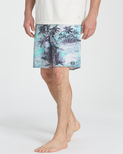 "10 Sundays Pro 19"" Boardshorts Blau P1BS07BIS9 Billabong"