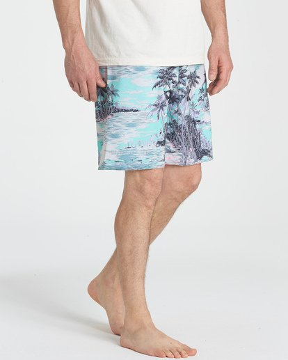 "11 Sundays Pro 19"" Boardshorts Blau P1BS07BIS9 Billabong"