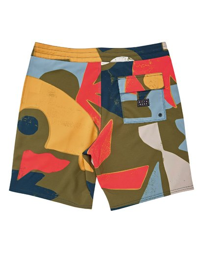 "1 Sundays Lo Tides 19"" Boardshorts Grün P1BS13BIS9 Billabong"