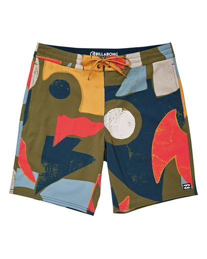 "0 Sundays Lo Tides 19"" Boardshorts Grün P1BS13BIS9 Billabong"